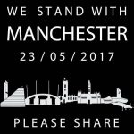 We Stand with Manchester